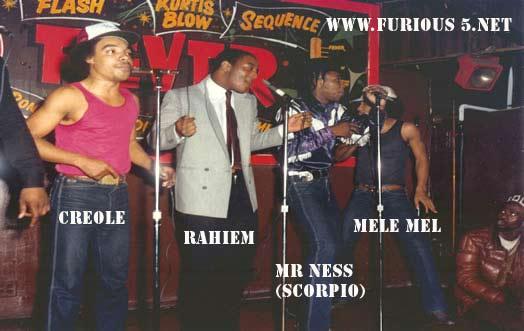 Grandmaster Melle Mel & The Furious Five - Grandmaster Melle Mel & The Furious Five
